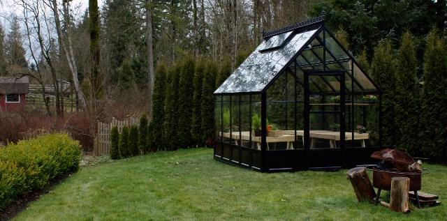 Decorative Panels on Parkside Greenhouse