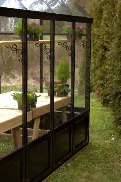 Decorative Greenhouse Base Panels