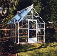 Cape Cod Glass Greenhouse 8 x 12