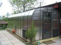 Curved Polycarbonate Lean-to