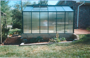 Side View of Fivewall Poly Greenhouse