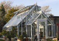 Custom Glass Greenhouse
