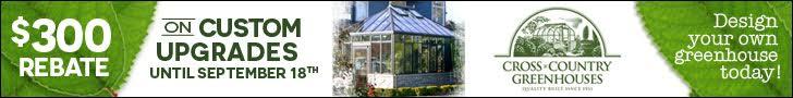 Greenhouse Upgrades Rebate