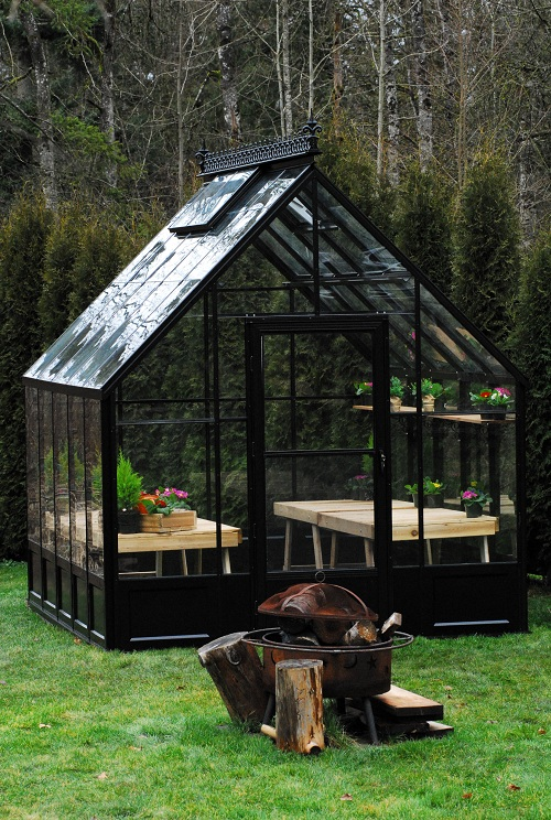 the parkside greenhouse 8 x 12 - Commercial Greenhouse Kits