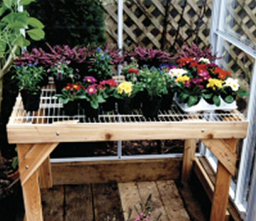 Greenhouse Benches, Greenhouse Gardening, Greenhouse Supplies
