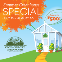 Greenhouse Sale